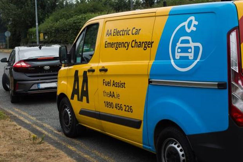AA Electric Car Emergency Charger